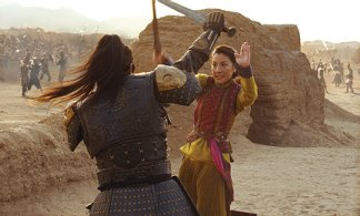 Jet Li and Michelle Yeoh get it on